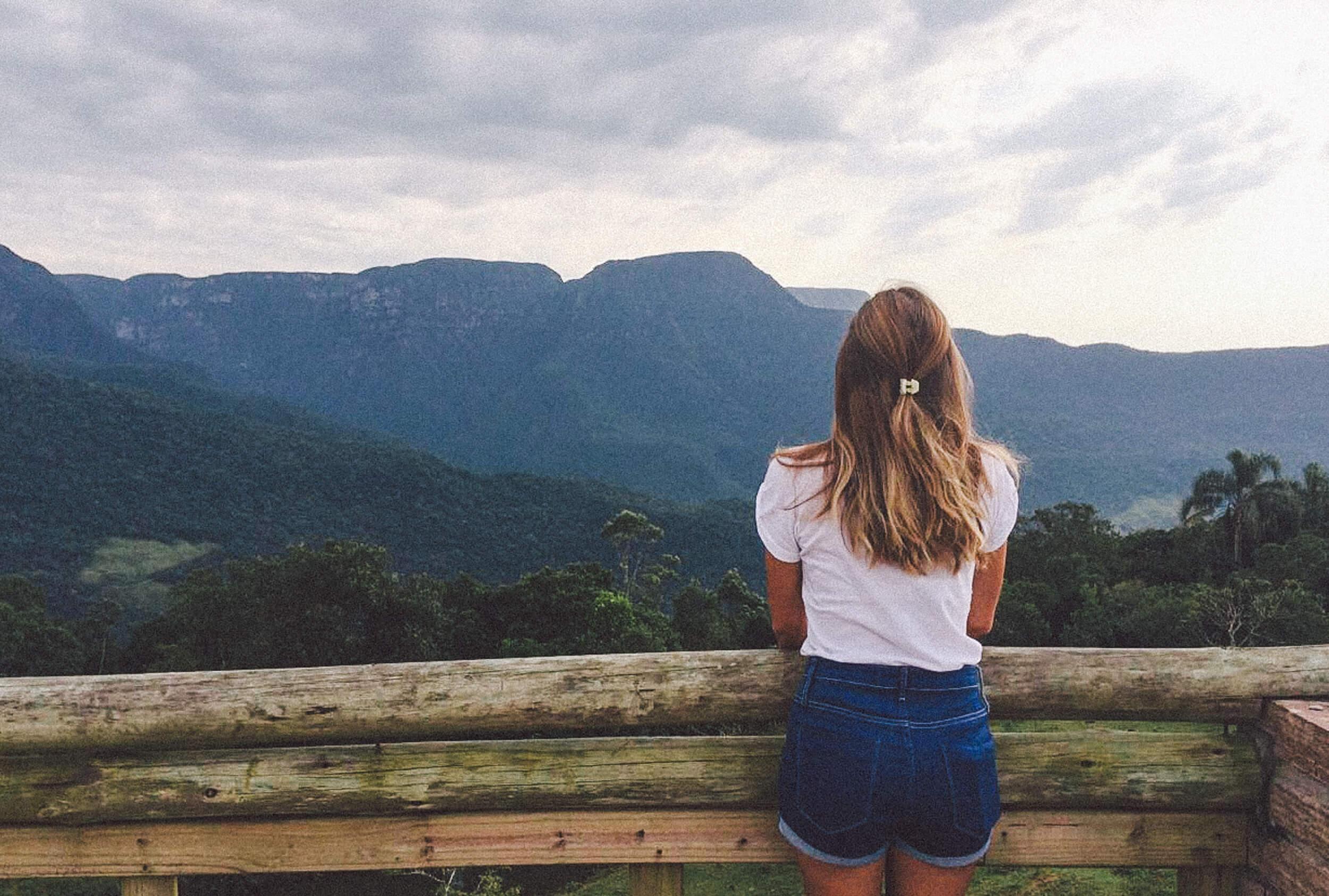 Vista do Mirante da Morada dos Canyons