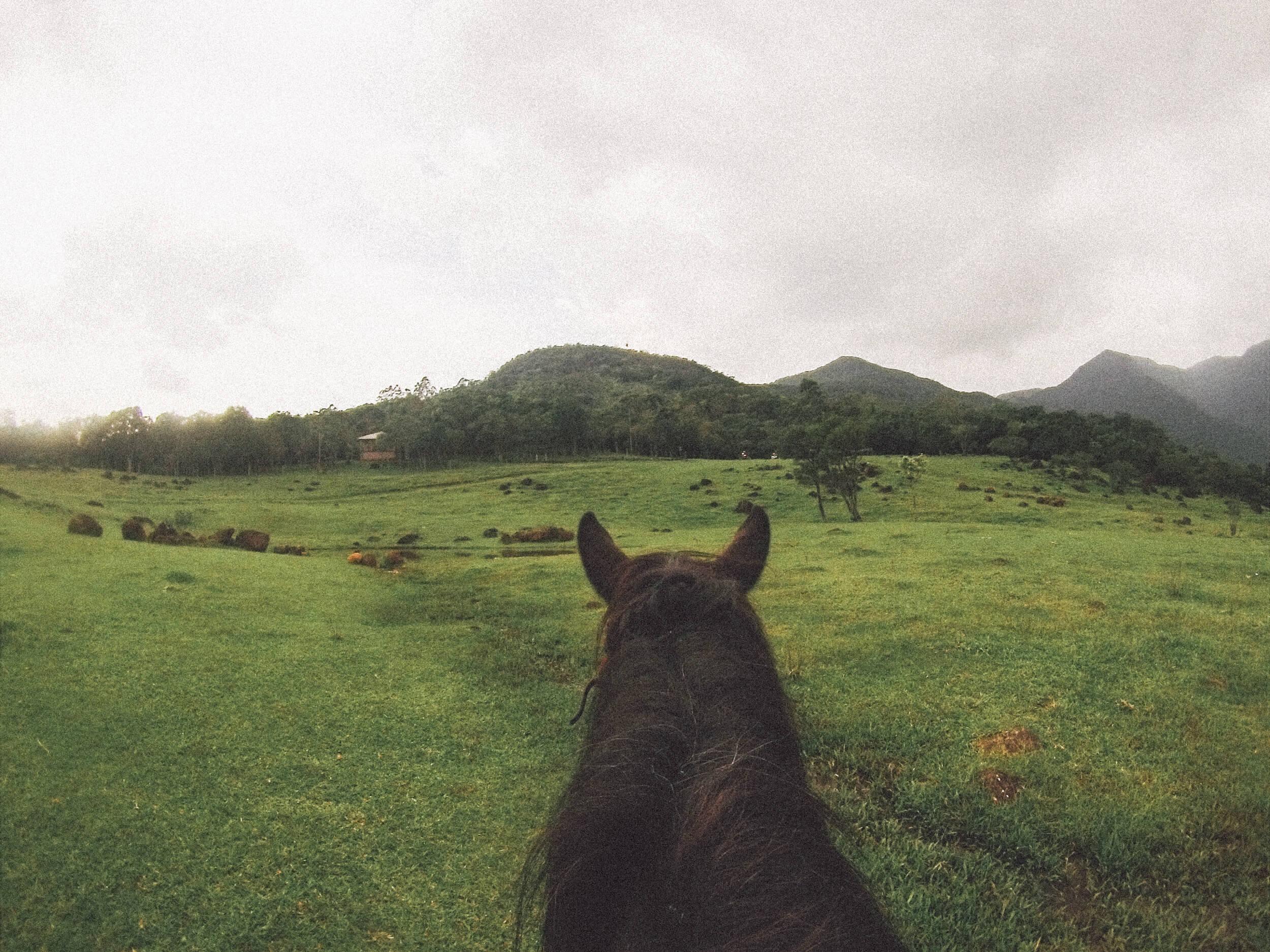 Passeio a cavalo com a Pousada Morada dos Canyons