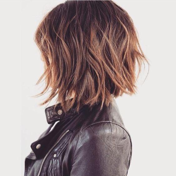 Inspiração corte de cabelo curto repicado