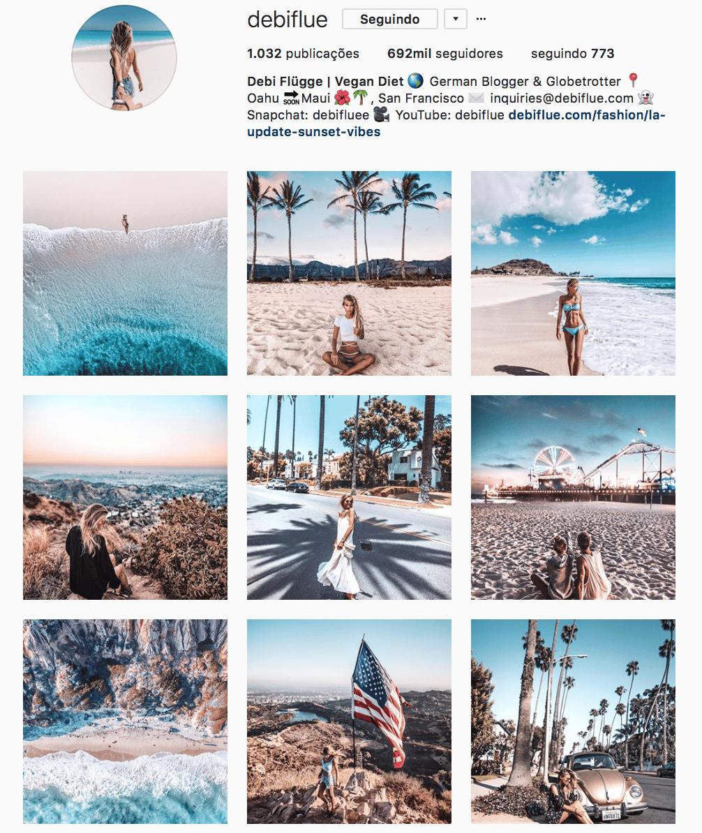 como organizar o feed instagram 11