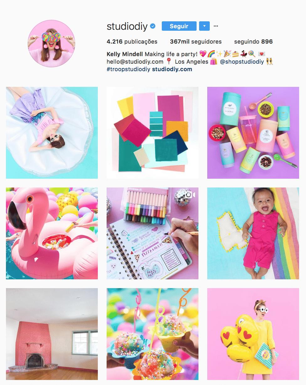 como organizar o feed instagram 7